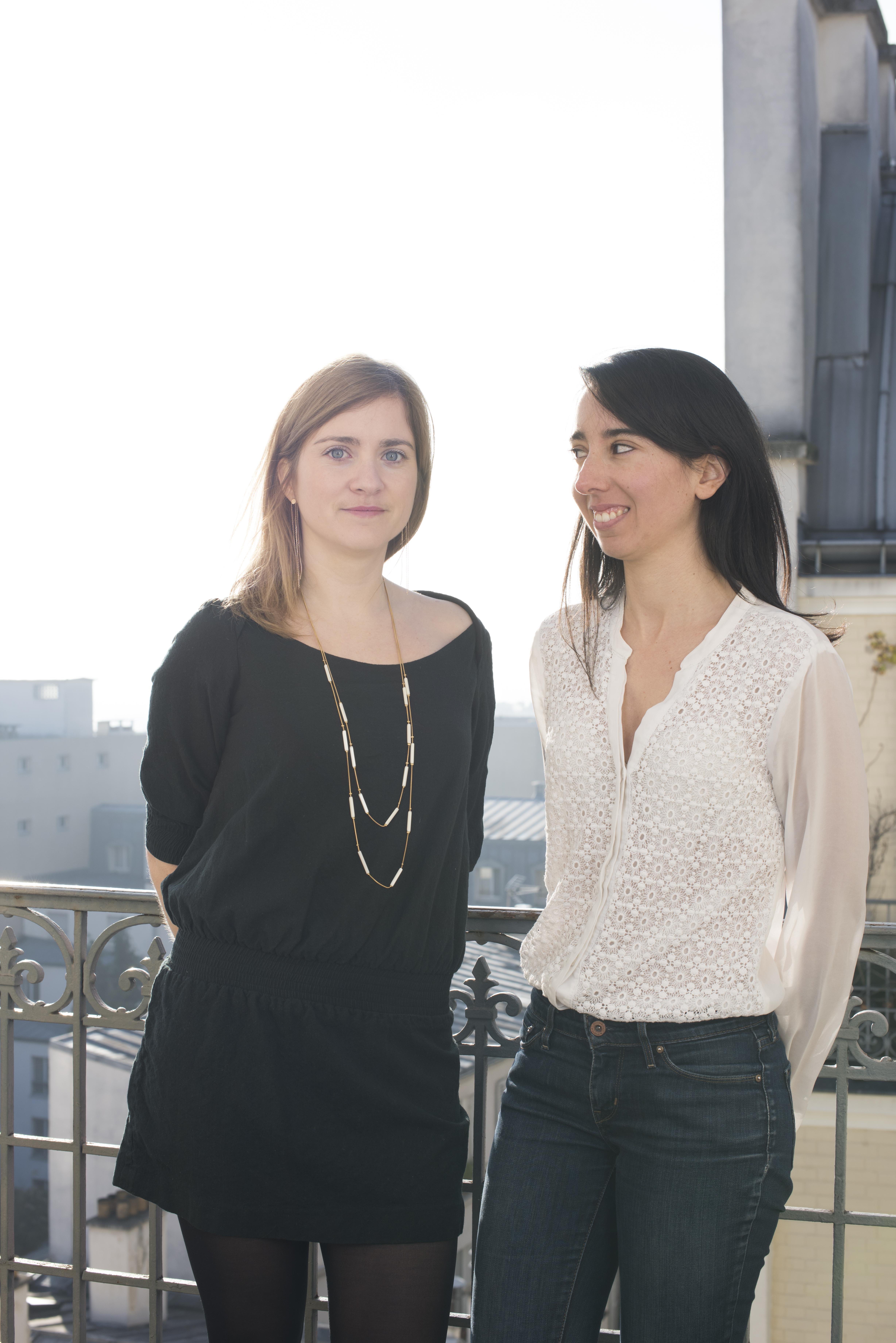 Morgane Pfligersdorffer et Laure Benacin