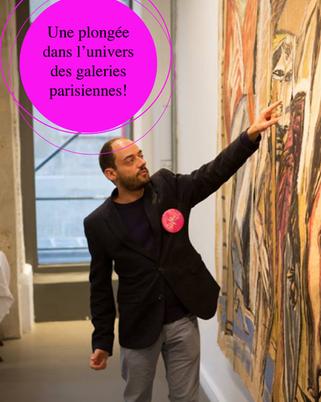 Une plongée dans l'univers des galeries parisiennes - Saint-Germain-des-Prés