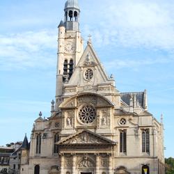 Découvrir les grandes églises parisiennes : Saint-Etienne du Mont