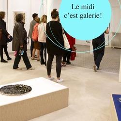 Le midi c'est galerie ! A la galerie Daniel Templon (nouvel espace)