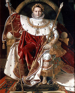 Show action 320px ingres  napoleon on his imperial throne