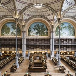Les nouveaux espaces du site Richelieu-Louvois