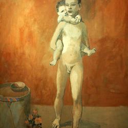 Picasso bleu et rose - visite guidée