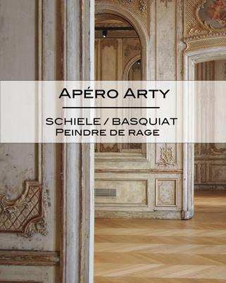 Apéro Arty : Schiele / Basquiat , peindre de rage !