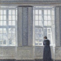 Vilhelm Hammershøi - visite guidée