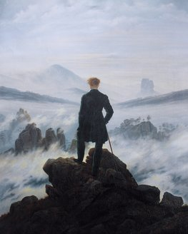 Show action caspar david friedrich   wanderer above the sea of fog