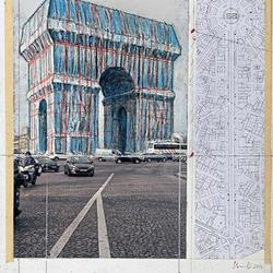 Christo et Jeanne Claude. Paris !