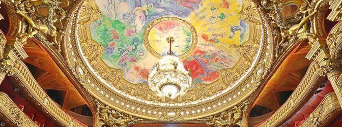 Teaser opera garnier batiment plafond chagall