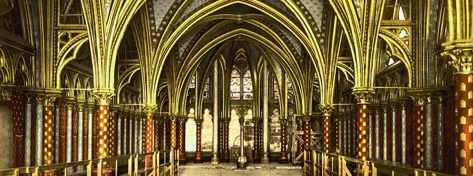 Teaser 1024px the holy chapel  interior of lower chapel  paris  france
