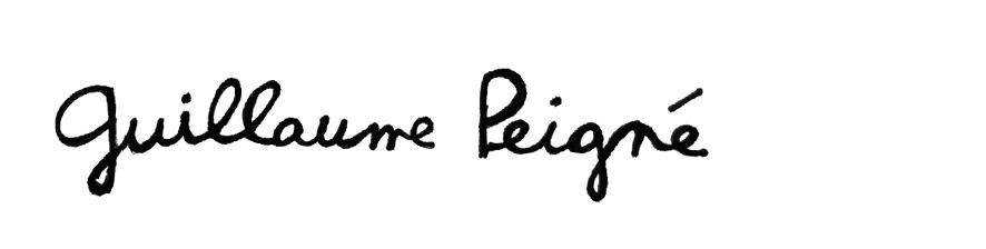 Signature guillaume